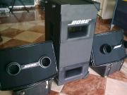 BOSE hangrendszer komplett (502+2x802)+ végfofok