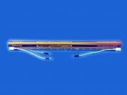 XOP-25 142V 2500W stroboszkóp villanócső