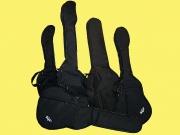 Elektromos, akusztikus gitártokok vastag szivacsbéléssel