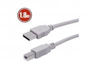 USB kábel 2.0 USB A-B,  TO HOST kábel 1,8m