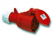 Ipari lengő dugalj 16A 5P IP44 400V (PCE-215)