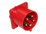 Ipari süllyesztett dugvilla 16A 5P IP44 400V (PCE-615)