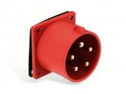 Ipari süllyesztett dugvilla 32A 5P IP44 400V (PCE-625)