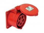 Ipari süllyesztett dugalj 16A 5P IP44 400V (PCE-315)