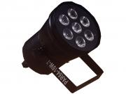 PAR64-10W-7  RGBW LED lámpa