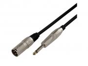 BMCXJ  mikrofonkábel XLR papa-Jack, 5-10m hosszú